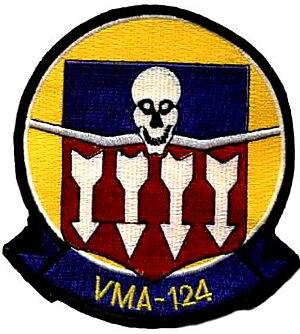 VMA-124 - VMA-124 Insignia