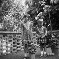 Vnukinji Štrajnovih, nedeljsko oblečeni, Mačkovlje 1967.jpg