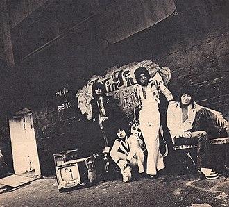 Vodka Collins - Vodka Collins band, circa 1972.