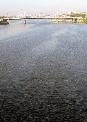 O rio Volga em Tver