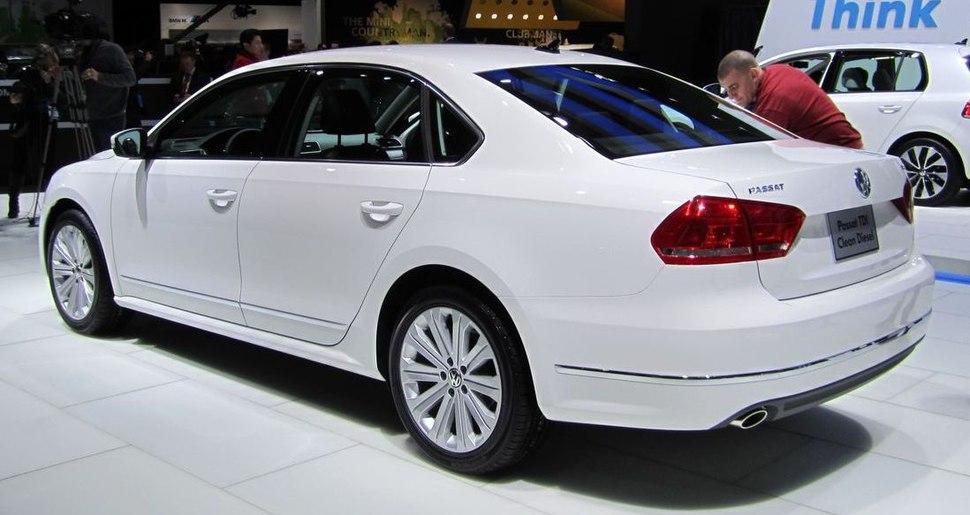 Volkswagen Passat (NMS) rear NAIAS 2011.1