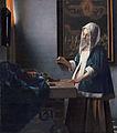 Vrouw met weegschaal van Vermeer.jpg