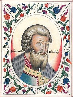 Vsevolod the Big Nest Grand Prince of Vladimir, 1176-1212