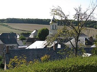 Cellé - Image: Vue du village de cellé