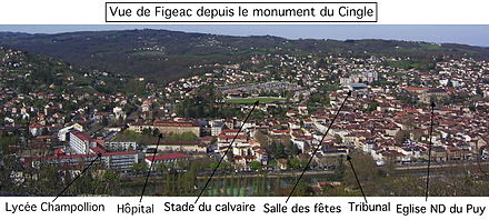Centre Ville Figeac Soledade
