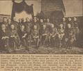 Vyznamenání J.S. Machara litevským vyznamenáním za účasti čsl. generálů - gen. Rudolf Kroutil stojící s brýlemi a knírkem.png