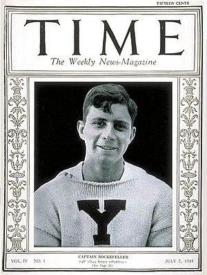 James Stillman Rockefeller - Rockefeller in Time magazine in 1924