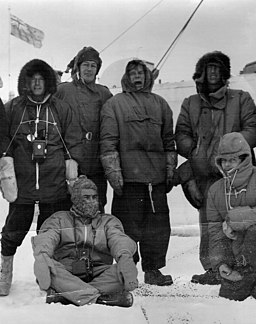 W. Stanley Moss - Commonwealth Trans-Antarctic Expedition