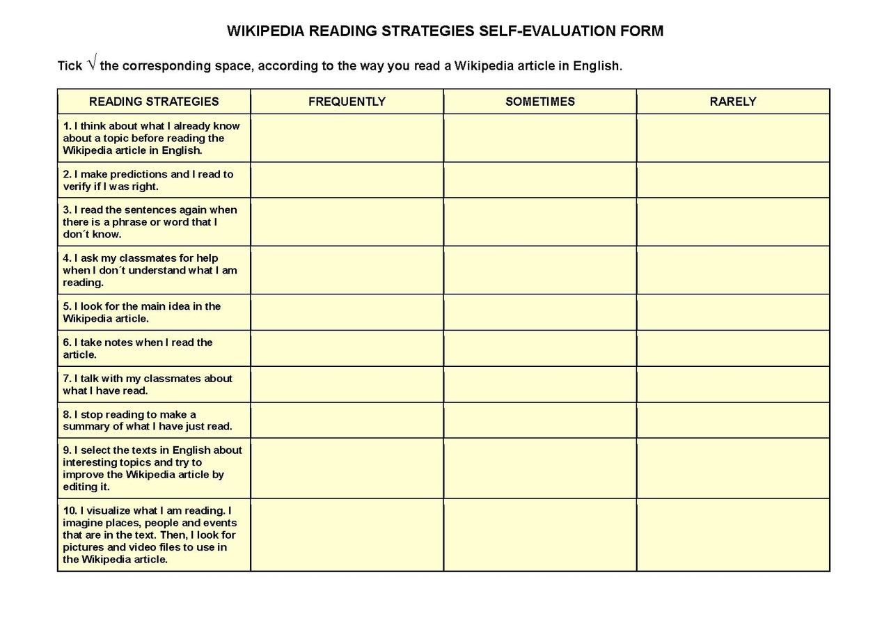 Credit One Application >> File:WIKIPEDIA READING STRATEGIES SELF-EVALUATION FORM.pdf - Wikimedia Commons