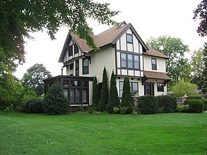 National Register of Historic Places listings in Marinette County, Wisconsin - Image: WI Marinette County Mary Brown House 0001