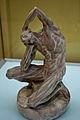 WLANL - MicheleLovesArt - Van Gogh Museum - Plaster cast of the 'Kneeling écorché'.jpg