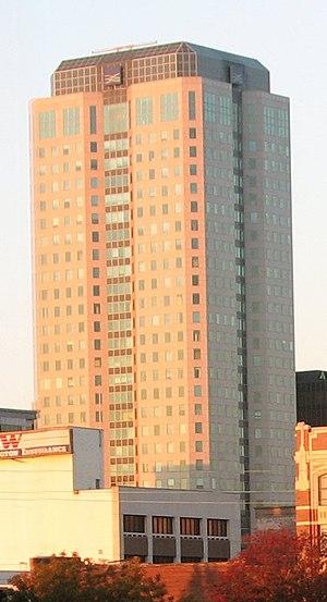 Wells Fargo Tower (Birmingham) - Image: Wachovia Tower cropped Birmingham, AL