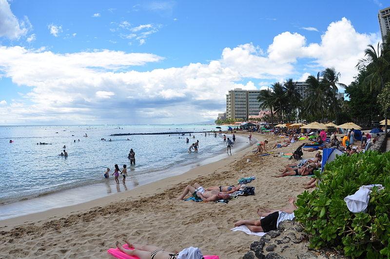 File:Waikiki 2 Oahu Hawaii Photo D Ramey Logan.JPG