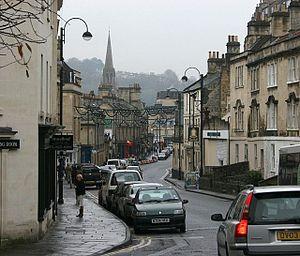 Walcot, Bath - Image: Walcot St Bath