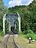Waldneukirchen - Steyrtalbahn - Waldneukirchner Brücke mit einfahrendem Zug - 2.jpg