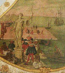 anonymous: Venetian harbor scene
