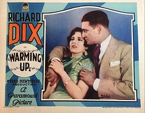Warming Up (1928 film) - lobby card