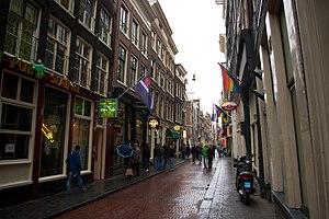 Warmoesstraat - Warmoesstraat in Amsterdam