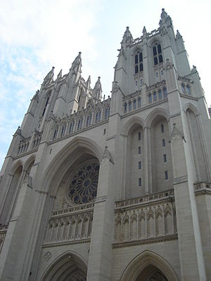 Christianity in the United States - The National Cathedral (Episcopalian) in Washington, D.C.