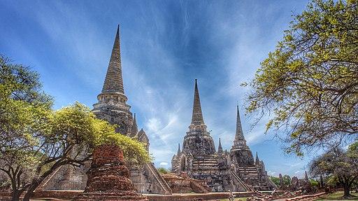Wat phra sri sanpetch (Temple), Ayutthaya, Thailand