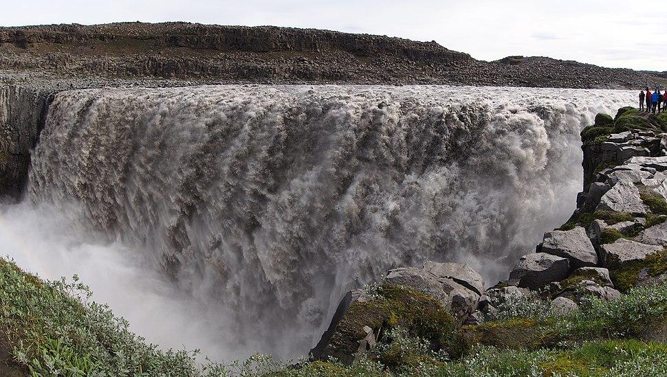 Waterfall Dettifoss, the Most Powerful Waterfall in Europe - 2013.08 - panoramio