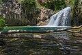 Waterfall Trail on Fossil Creek (30064902506).jpg