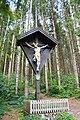 Wayside cross in Bsuch, Saalfelden, Austria.jpg