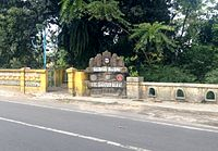 Welcome Gate To Siantar Barat, Pematangsiantar 02.JPG