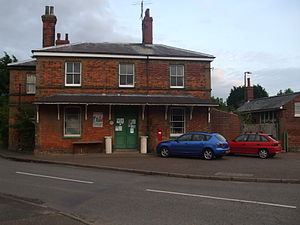 Wells-next-the-Sea railway station - The former Wells-next-the-Sea Station in 2007
