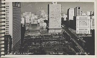Vale do Anhangabaú - São Paulo - Brasil