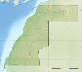 Voir la carte topographique du Sahara occidental