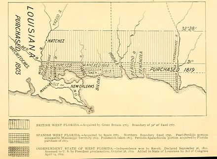 "A 1903 map showing the territorial changes of ""West Florida"" Westfloridaitsre00cham 0010.jpg"