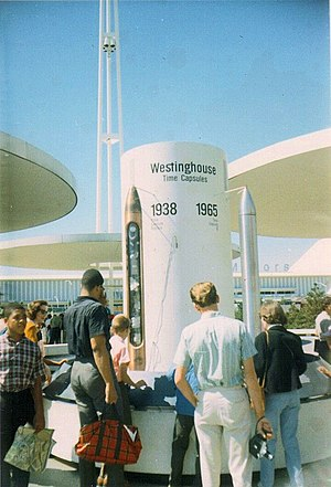 Westinghouse Time Capsules - Image: Westinghouse replicas Sep 65