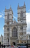 Westminster Abbey, west facade