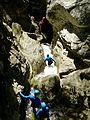 WikiProjekt Landstreicher Starzlachklamm Canyoning 08.jpg