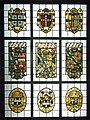 Wikimania 2014 - Victoria and Albert Museum - Stained glass panels - Beaupré Hall222166.jpg