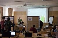 Wikimedia Hackathon Vienna 2017-05-19 Hacking Gurkerl 014.jpg