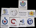Wikimedia Hungary stickers 2012.JPG