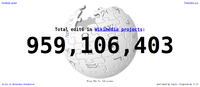 Wikimedia projects edits counter 2010-02-19.png