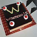 Wikipedia Birthday Cake - Wikipedia 15 Celebration - St Johns Church - Kolkata 2016-01-15 8679.JPG