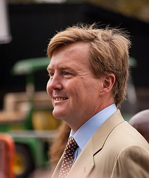 Kingdom of the Netherlands - King Willem-Alexander of the Netherlands, the reigning monarch of the Kingdom of the Netherlands. At the time this picture was taken he was still the Prince of Orange.