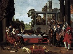 Willem Pietersz. Buytewech - Banquet in the Open Air - WGA3721.jpg