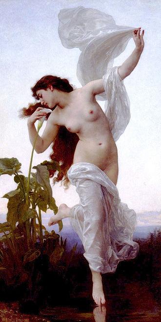 Tithonus (poem) - Image: William Adolphe Bouguereau (1825 1905) Dawn (1881)