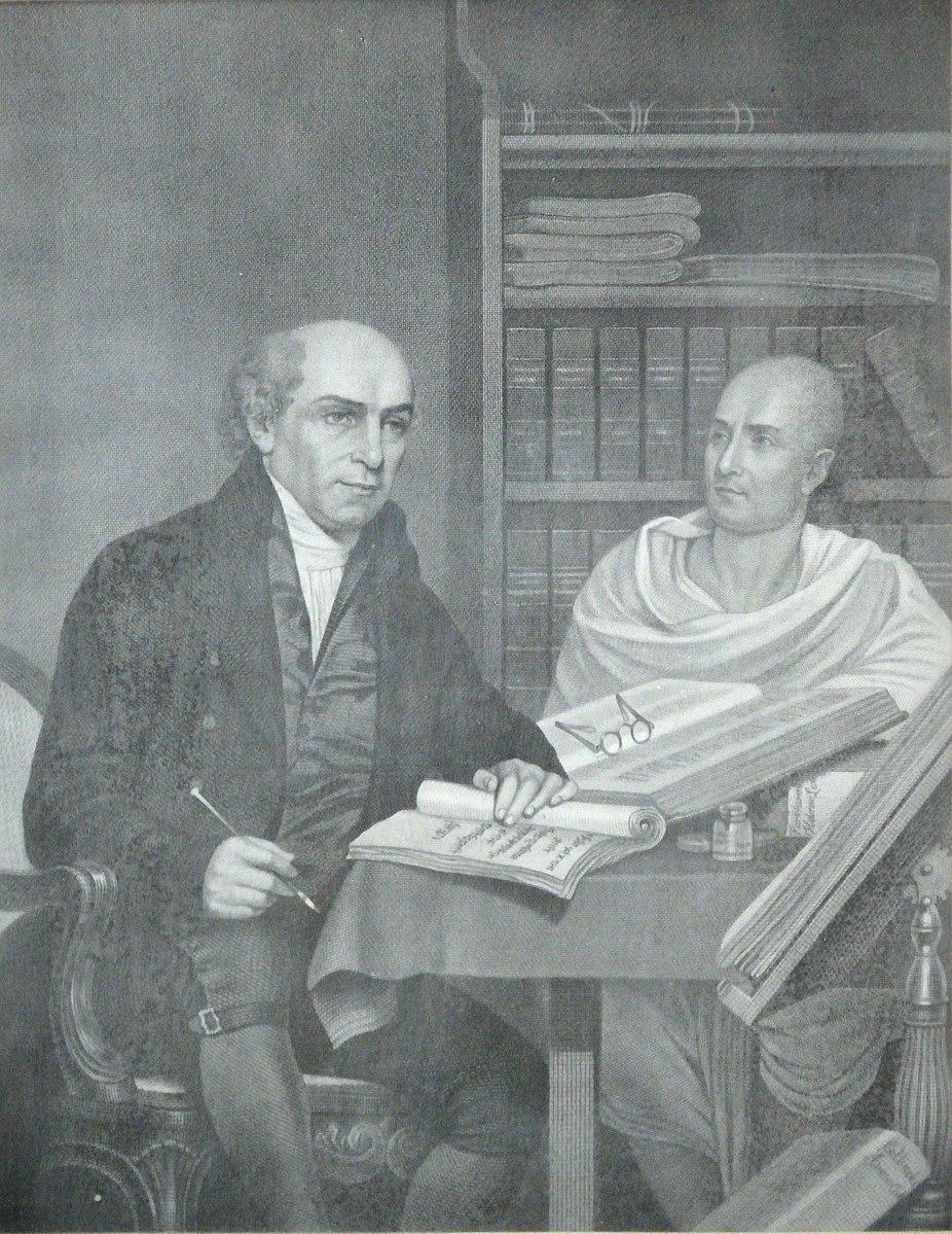 William Carey with Pandit