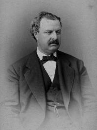 "1876 in baseball - William Hulbert, founder of the National League, the first ""major"" league."