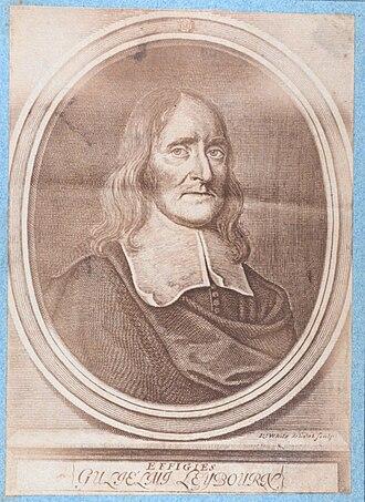 """William Leybourn - A portrait of William Leybourn, from """"La Science de l'arpenteur : dans toute son etendue"""", by Dupain de Montesson"""