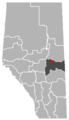 Willingdon, Alberta Location.png