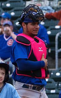 Willson Contreras Venezuelan baseball player