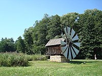 Windmill in National Museum Astra.JPG
