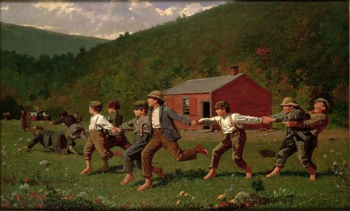 Winslow Homer - Snap the Whip (Butler Institute of American Art).jpg